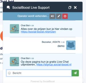 chatbot socialboost
